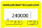 Aircraft scale, aircraft scales, helicopter scale, four channel aircraft scale, 4 channel aircraft scale, 4 channel helicopter scale, four channel helicopter scale