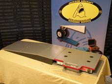platform scale, aircraft platform scale, aircraft platfomr scales, aircraft scales, light aircraft scale, helicopter scale.