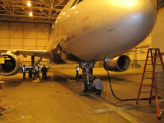 Airbus weighing, Aircraft scales, aircraft weighing, airbus scales, A320 scales, large jet weighing, A320, A319, aircraft weighing, aircraft weighing service,